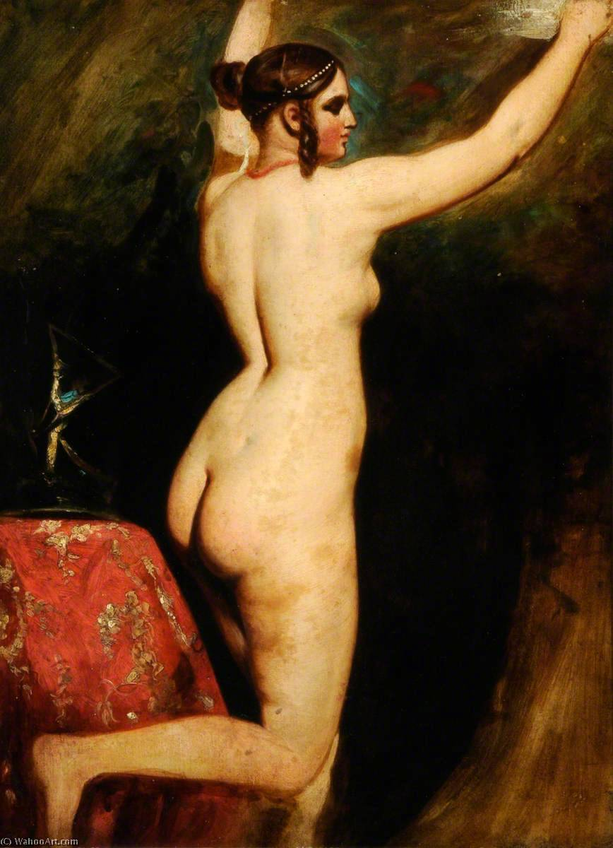Nude by William Etty (1787-1849, United Kingdom) | Painting Copy | ArtsDot.com