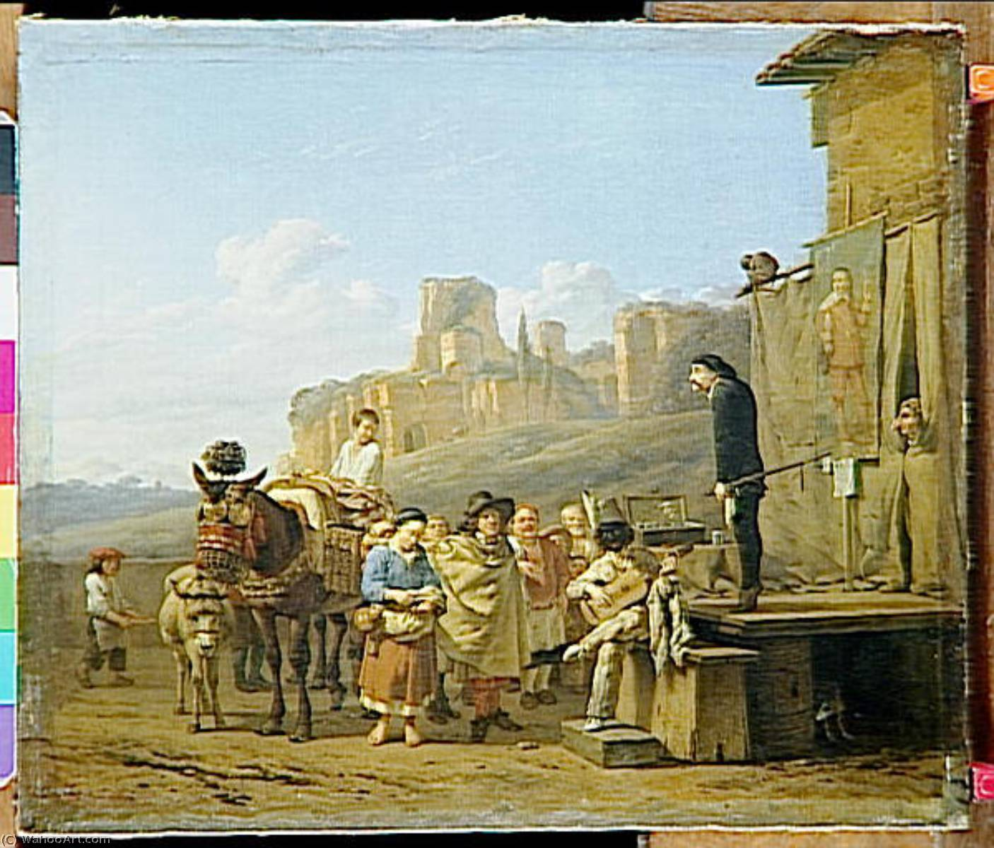LES CHARLATANS ITALIENS by Karel Dujardin (1626-1678, Netherlands) | Art Reproduction | ArtsDot.com