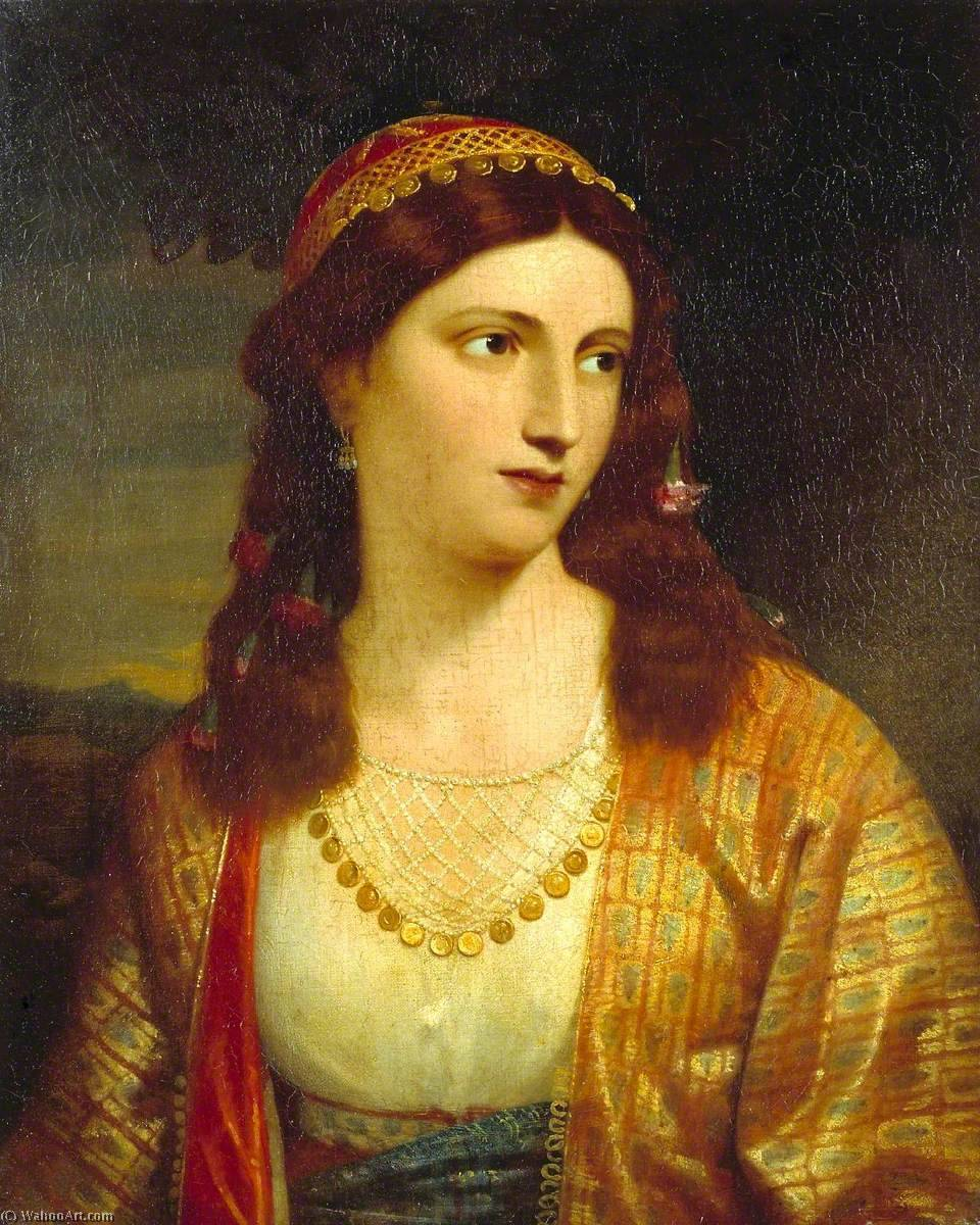 Haidée, a Greek Girl, 1831 by Charles Lock Eastlake (1793-1865) | Museum Quality Reproductions | ArtsDot.com