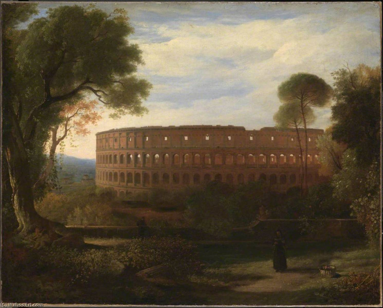 The Colosseum from the Esquiline, 1822 by Charles Lock Eastlake (1793-1865) | Museum Quality Reproductions | ArtsDot.com