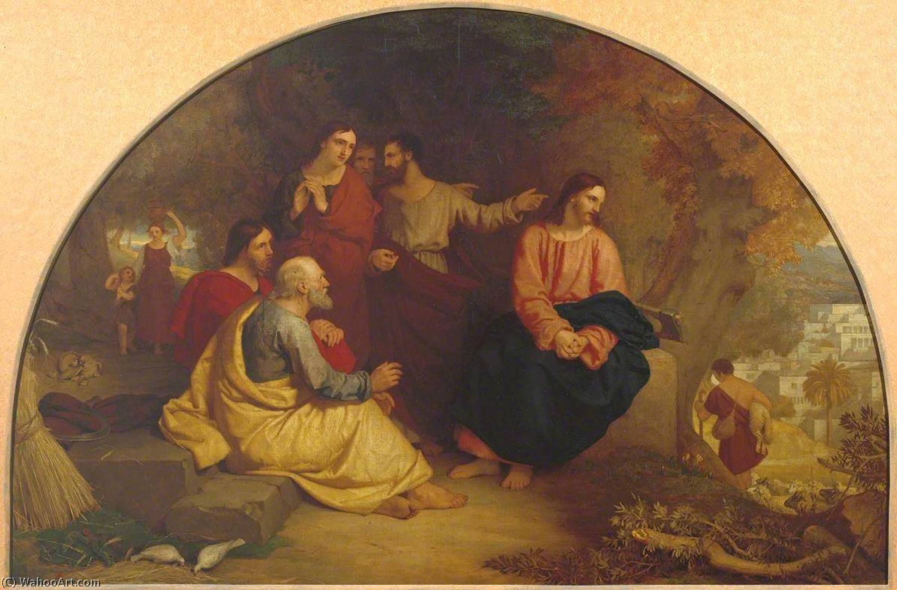 Christ Lamenting over Jerusalem, 1855 by Charles Lock Eastlake (1793-1865) | Museum Quality Reproductions | ArtsDot.com