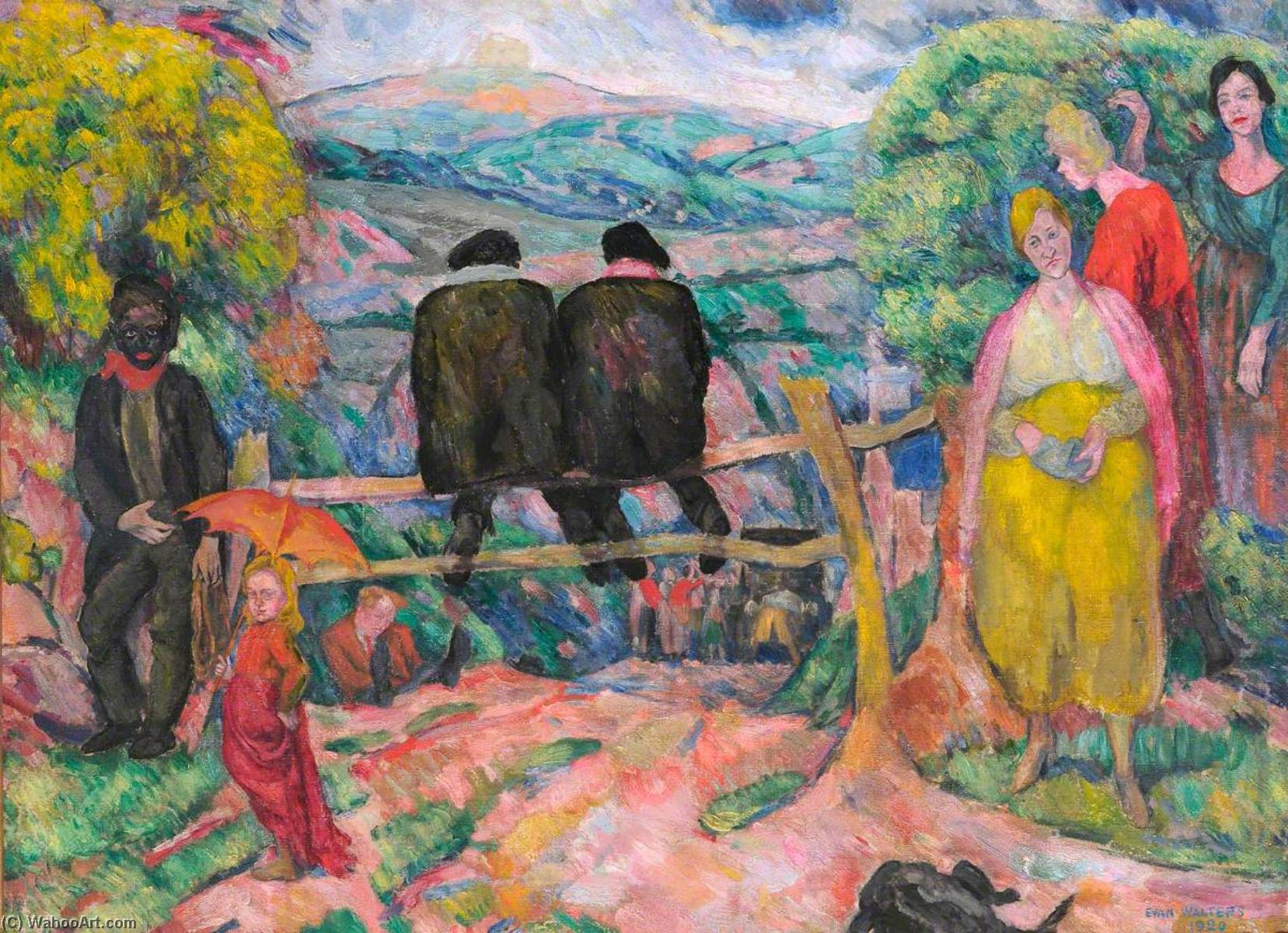 Order Art Reproduction : Collier`s Wedding, 1920 by Evan Walters | ArtsDot.com