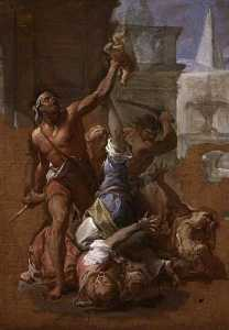Francesco Trevisani - Study for 'The Massacre o..