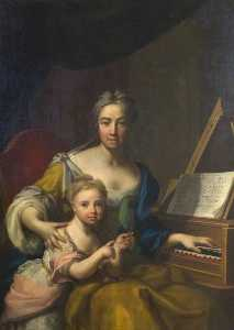 Francesco Trevisani - Frances, Wife of John, 6t..