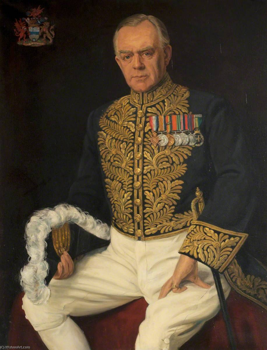 Order Oil Painting : Lord Gwilym Lloyd George (1894–1967), Lord Tenby by Margaret Lindsay Williams (1888-1960) | ArtsDot.com