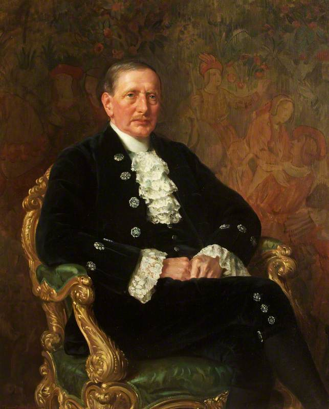 Sir John Wesley Courtis, Lord Mayor (1911–1912), High Sheriff (1916) by Margaret Lindsay Williams (1888-1960) | Museum Art Reproductions | ArtsDot.com