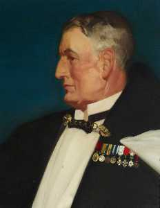 William Russell Flint - Rear Admiral Sir Murray Sueter (1872–1960)