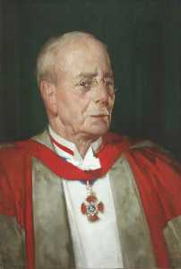 William Russell Flint - Sir Charles Scott Sherrington (1857–1952), OM, Fellow (1913–1939)