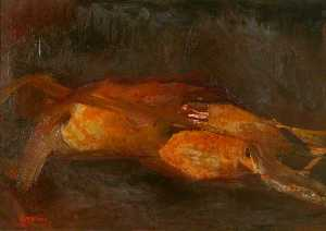 Cliff Holden - Reclining Form 1