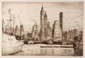 Edward S Hewitt - Towers and Tonnage