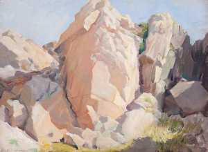 Henry Young Alison - Cliffs and Rocks