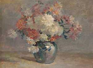 Henry Young Alison - Vase of Flowers