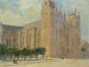 Louis Ginnett - Cathedral Facade