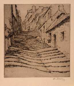 Abbo Ostrowsky - Cobblestone Stairway