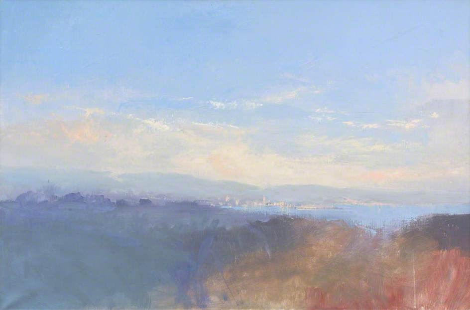 Order Painting Copy : Penzance over the Moors by John Miller | ArtsDot.com