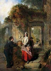 Daniel Pasmore I - Courting at the Well