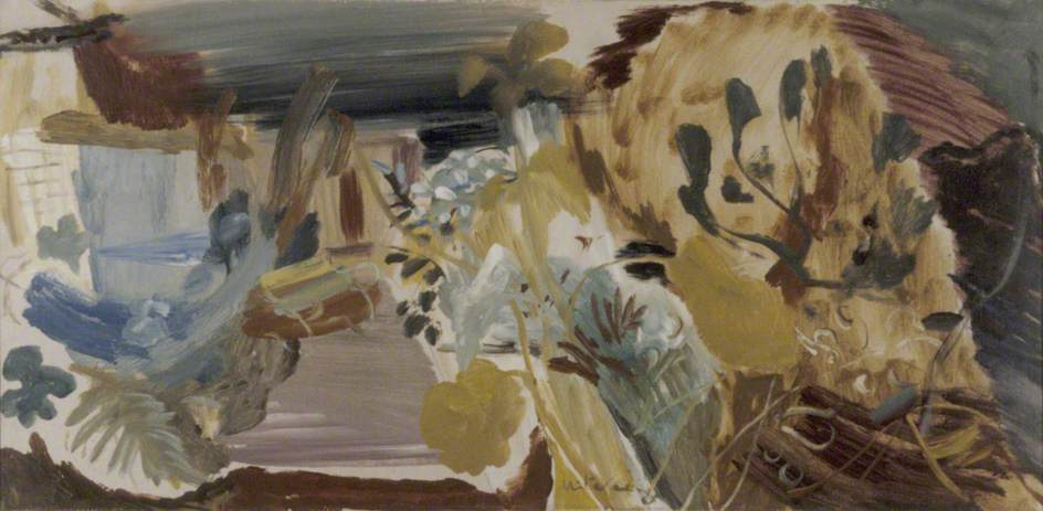 Tangled Pool, 1948 by Ivon Hitchens | Museum Quality Reproductions | ArtsDot.com