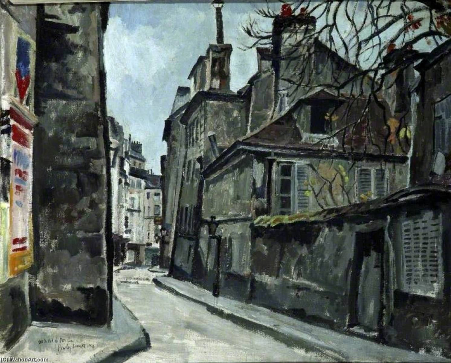 Rue du Pot de Feu by Rowley Smart | Museum Art Reproductions | ArtsDot.com