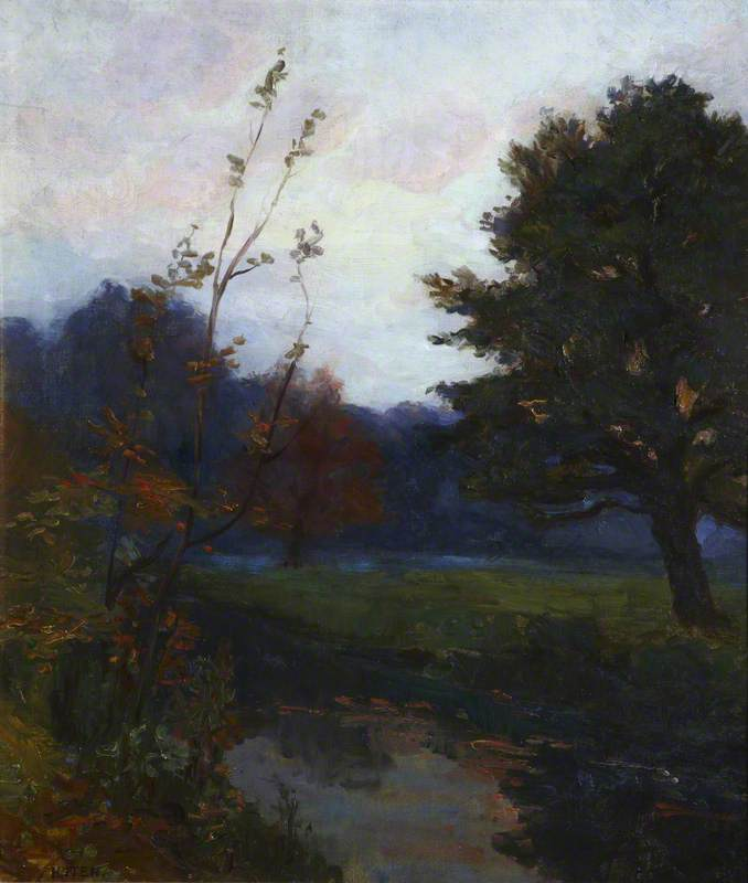 Autumn by Hans Iten | Oil Painting | ArtsDot.com