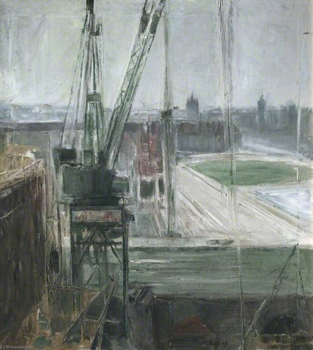 Shell Site, South Bank, London by David Tindle | Museum Quality Reproductions | ArtsDot.com