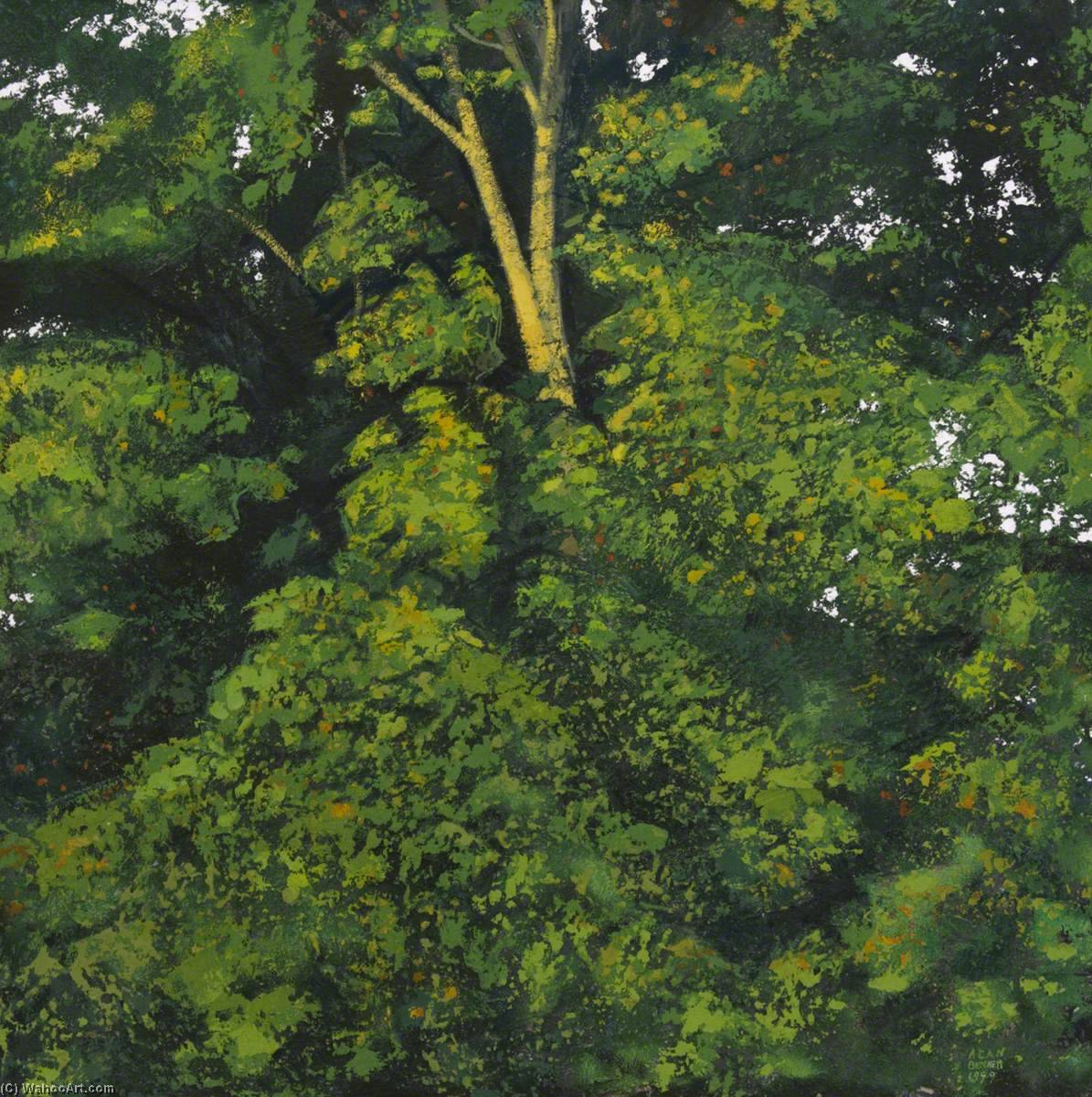 Foliage Clouds, Sycamore, 1999 by Alan Bennett | Museum Art Reproductions | ArtsDot.com