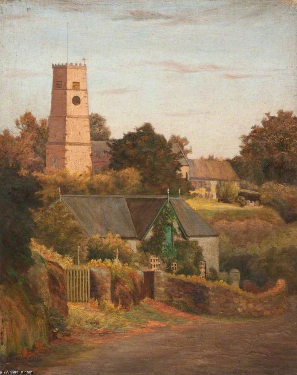 Ashprington, South Devon by Robert Lillie | Museum Quality Reproductions | ArtsDot.com