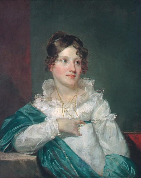 Mrs. Daniel DeSaussure Bacot, 1820 by Samuel Finley Breese Morse (1791-1872, United States) | Art Reproduction | ArtsDot.com
