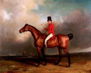 Abraham Cooper - Mr A. W. Tudor (Master of Foxhounds), on Horseback