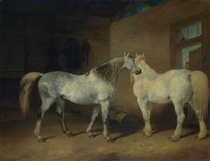 Abraham Cooper - Draught Horses