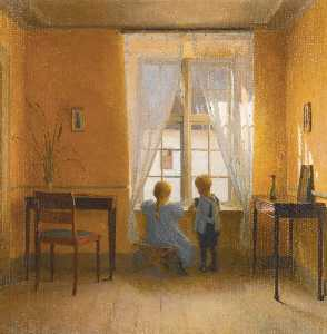 Peder Ilsted - At the Window
