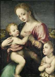 Niccolò Betti - Virgin and Child with the Infant St John the Baptist