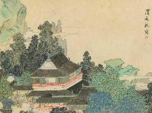 Ren Xiong - PAVILION IN ENCHANTED MOU..