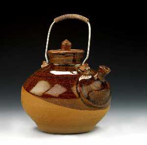 Byron Temple - Untitled (Lidded Jar)