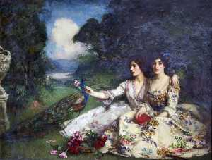 William Mouat Loudan - Alas That Spring Should V..