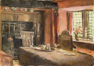 Rosa Lucas - Dining Room at Stanegarth..