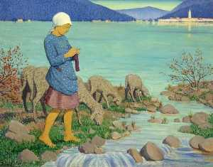 Janet C Fisher - On the Shore of the Lake