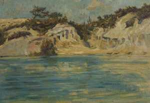 Charles Neil Knight - The Blue Pool, Dorset