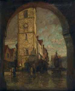 Henry Mitton Wilson - The Clock Tower, St Alban..