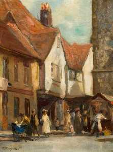 Henry Mitton Wilson - French Row, St Albans