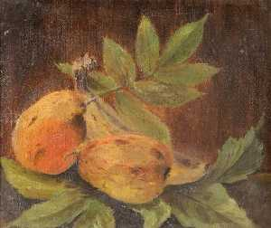 Constance Dutton Thompson - Pears and Leaves
