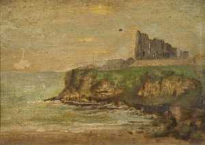 Constance Dutton Thompson - Tynemouth Priory Ruins