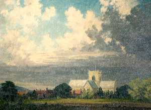 Clive Richard Browne - St Mary's Church, Stow, L..