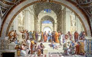 Anton Raphael Mengs - The School of Athens (aft..