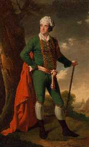 Joseph Wright Of Derby - Portrait of a Man, Known ..