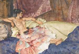 William Russell Flint - Olearia