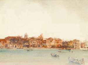 William Russell Flint - Lesser Venice
